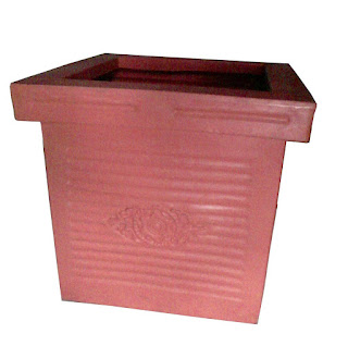 big plastic square pots ahmedabad gujarat