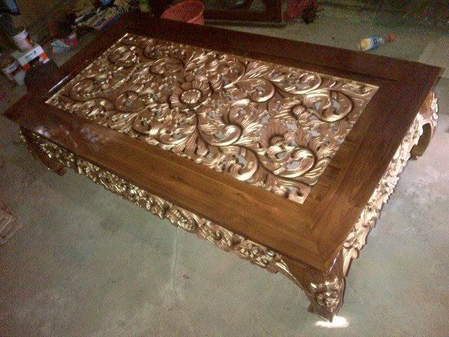 Meja Ketapang ukuran 150x80cm