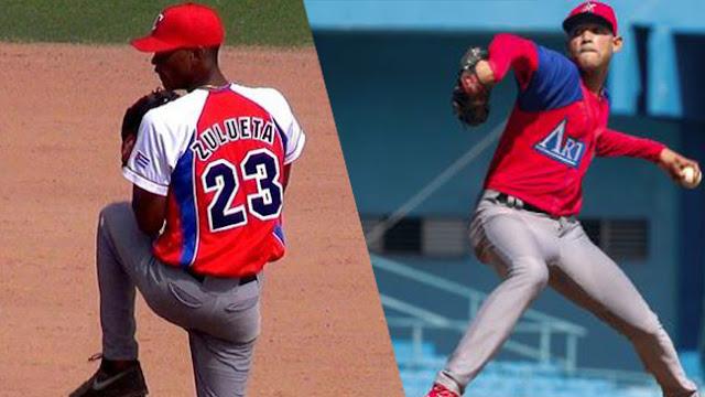 No se puede negar que Yosver Zulueta y Misael Villas son dos talentosos serpentineros y los une el hecho de ser de los más grandes prospectos del pitcheo cubano en la actualidad.