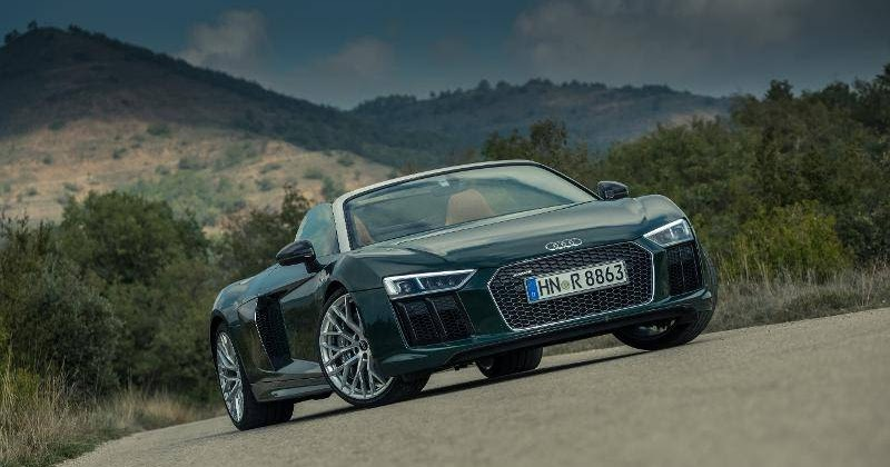 Latest Car News Update : Audi R8 V10 Spyder: A Supercar That Anyone Can Drive