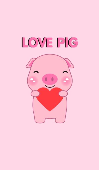 I Love Pig Theme