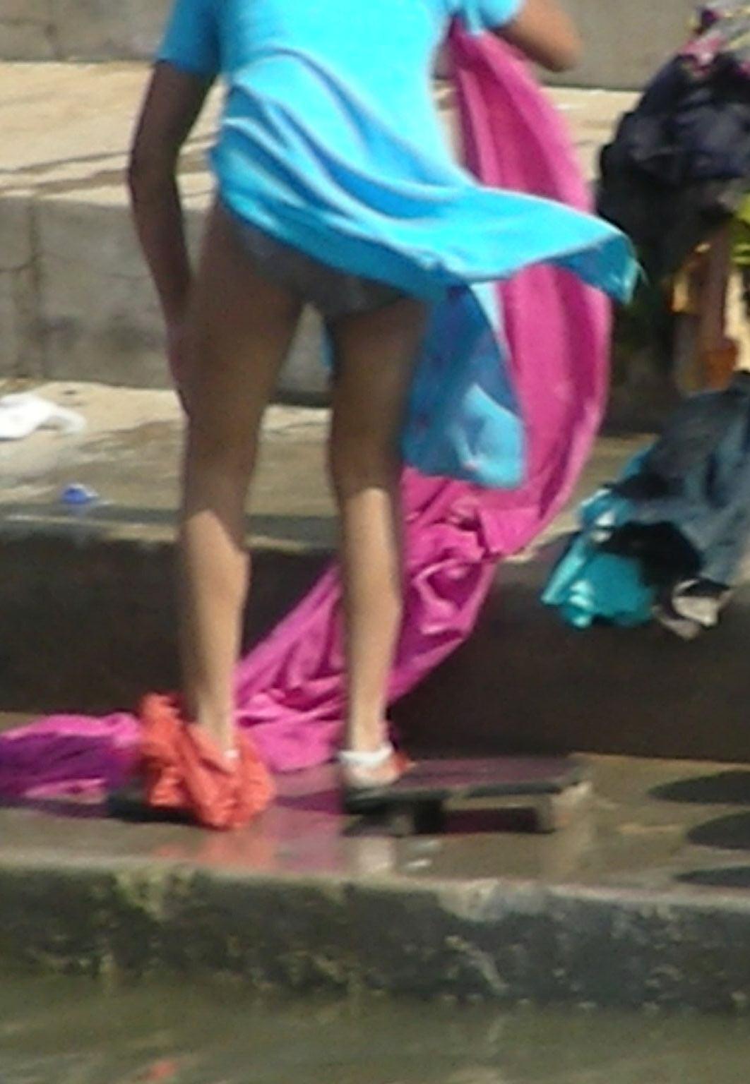 bathing suit butt cracks girls