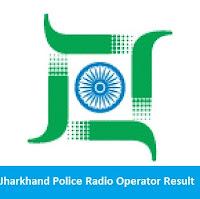 Jharkhand Police Radio Operator Result