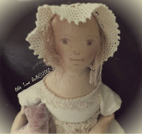 Pencil Face Cloth Doll