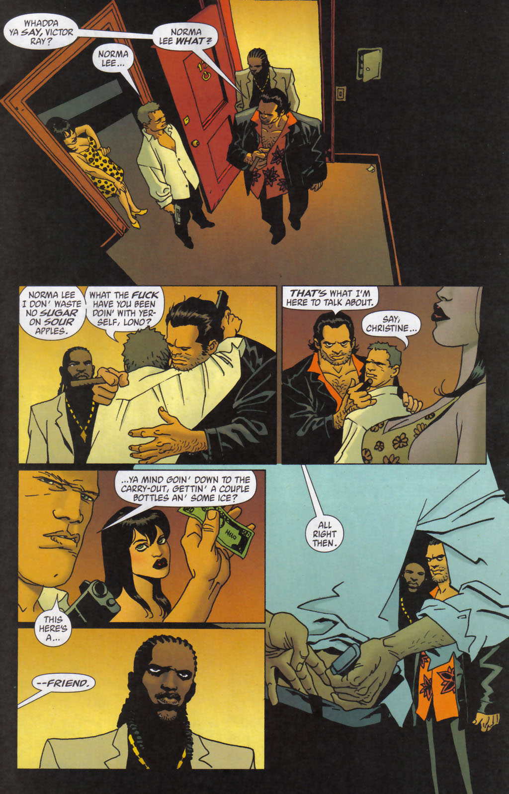 Read online 100 Bullets comic -  Issue #59 - 7