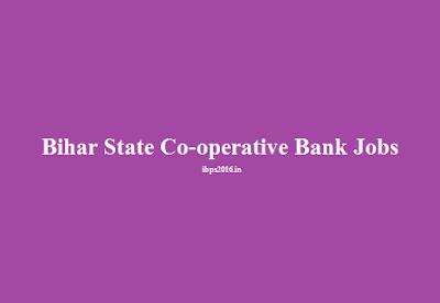 Bihar State Co-operative Bank Jobs