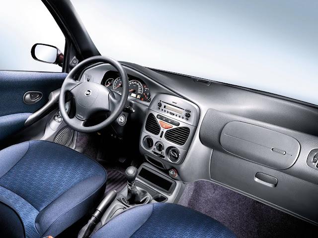 Fiat Palio Weekend 2001 - interior