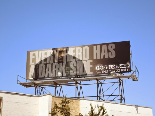 Gang Related series premiere billboard