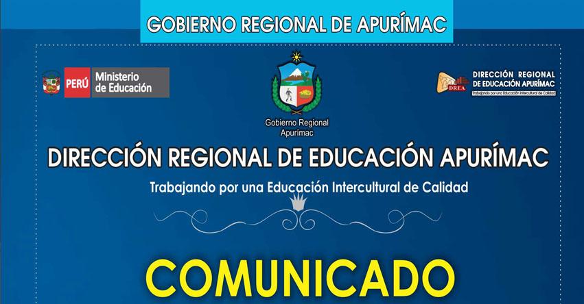 DRE Apurímac comunica a los usuarios inmersos en el Expediente Judicial N° 116-2005 (FENTASE APURÍMAC) Presentar Documentos - www.dreapurimac.gob.pe
