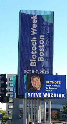 Steve Wozniak is the keynote at the Biotech Week Boston