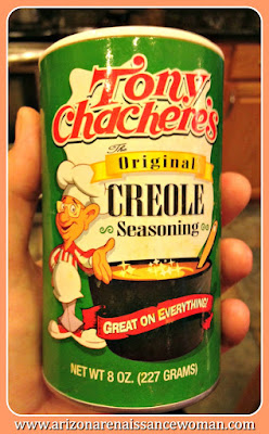 Tony Chachere's Creole Seasoning for Pecan Crusted Catfish Tacos with Meunière Aioli and Spicy Tomato and Herb Salsa