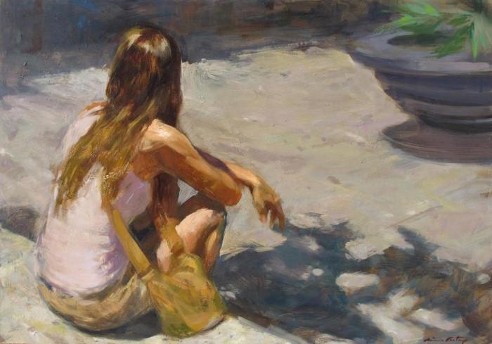 Современные художники Испании. Monica Castanys 5