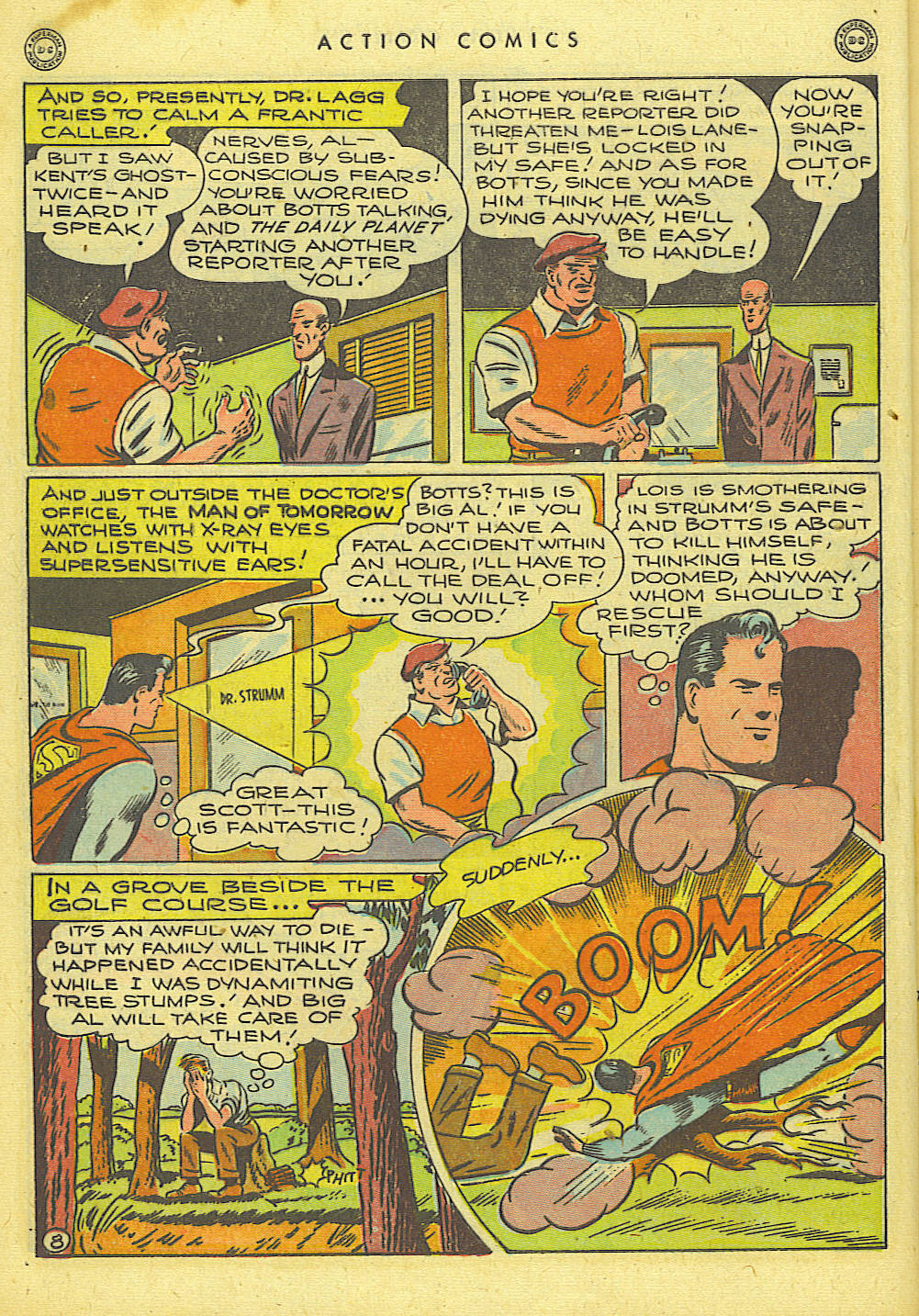 Read online Action Comics (1938) comic -  Issue #118 - 9