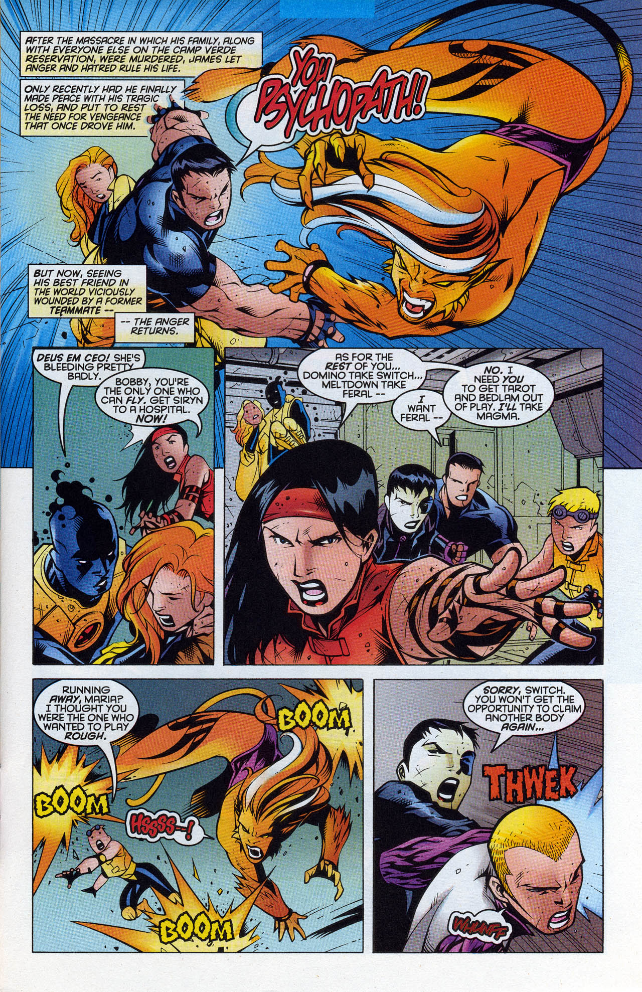 Read online X-Force (1991) comic -  Issue #90 - 11