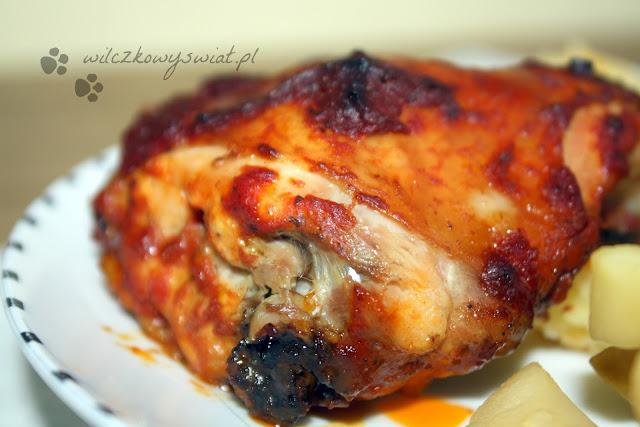 Kurczak w sosie pomidorowym z curry