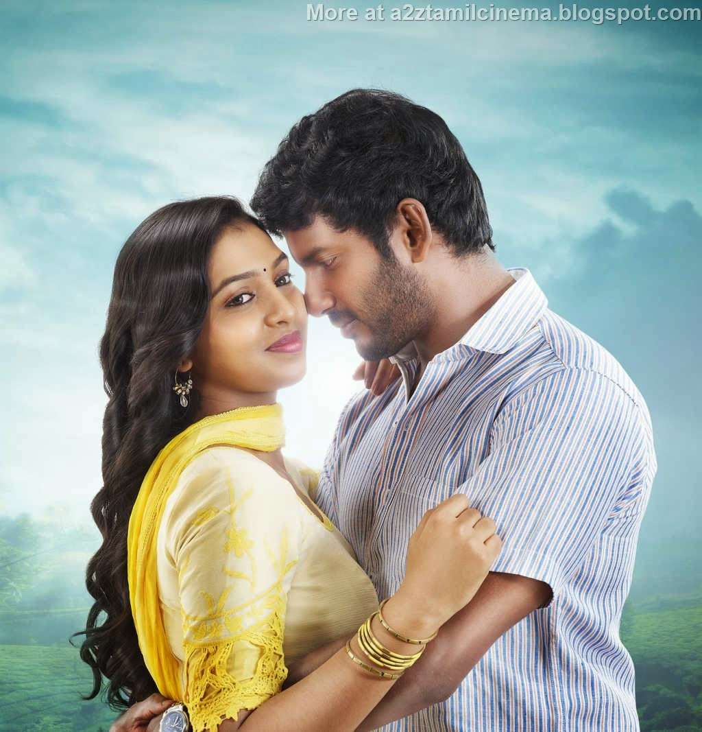 vishal images vishal stills vishal latest hd wallpapers ... Naan Sigappu Manithan Lakshmi Menon Kiss