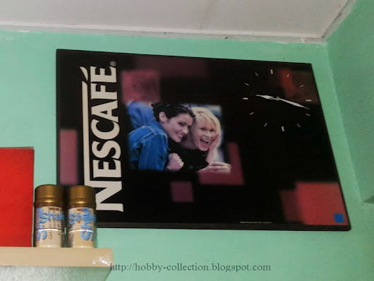 JAM DINDING NESCAFE         |          Hobby & Collection - Hobi & Koleksi