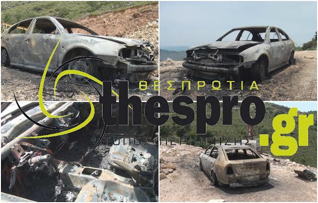 Ηγουμενίτσα: ΙΧ κάηκε ολοσχερώς (ΦΩΤΟ+ΒΙΝΤΕΟ)