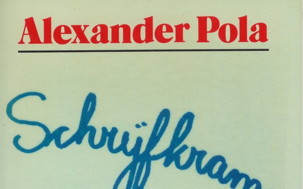 Mijn Boekenkast Alexander Pola Schrijfkramp Light Verse