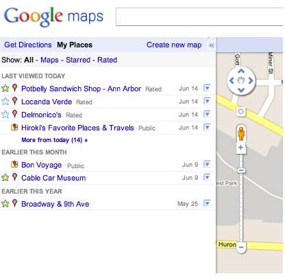 Google Lat Long: My Places now helps you manage your ... on my disney maps, my google profile, my google calendar, my google plus, my msn maps, my google docs, my google history, my google search, my google contacts, my maps app, my google mail, my maps example, my places google, weather maps, my google drive, my google business, bing maps, satellite maps, my google gmail, my nokia maps,