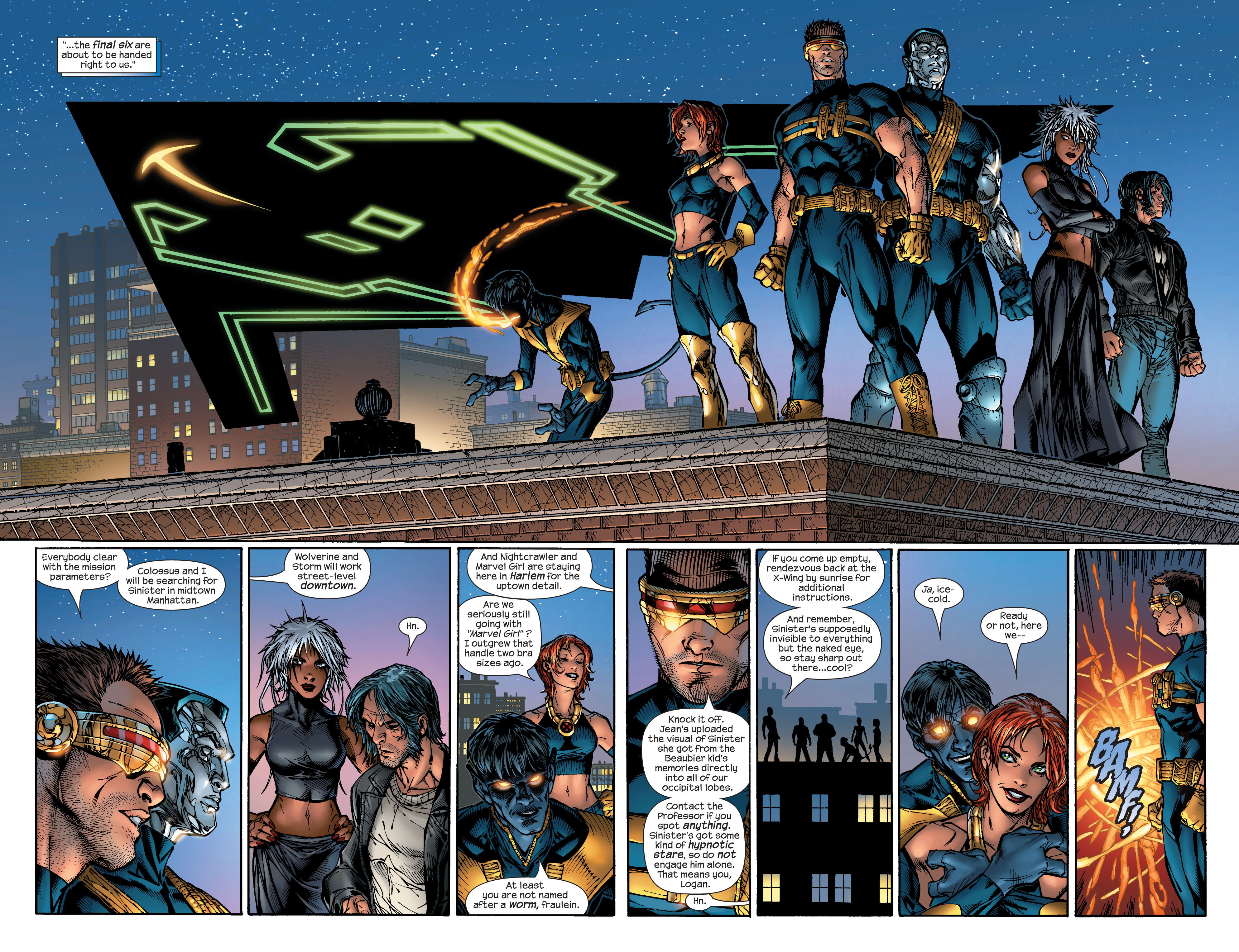 Read online Ultimate X-Men comic -  Issue #48 - 7