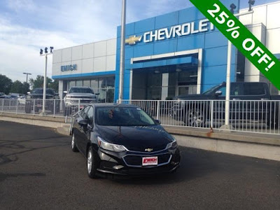 2018 Chevy Cruze for sale at Emich Chevrolet near Denver