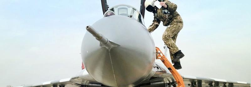 +1 модернізований МіГ-29 для Повітряних Сил