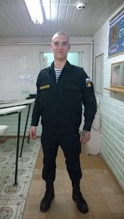 Антон Руденко в армии