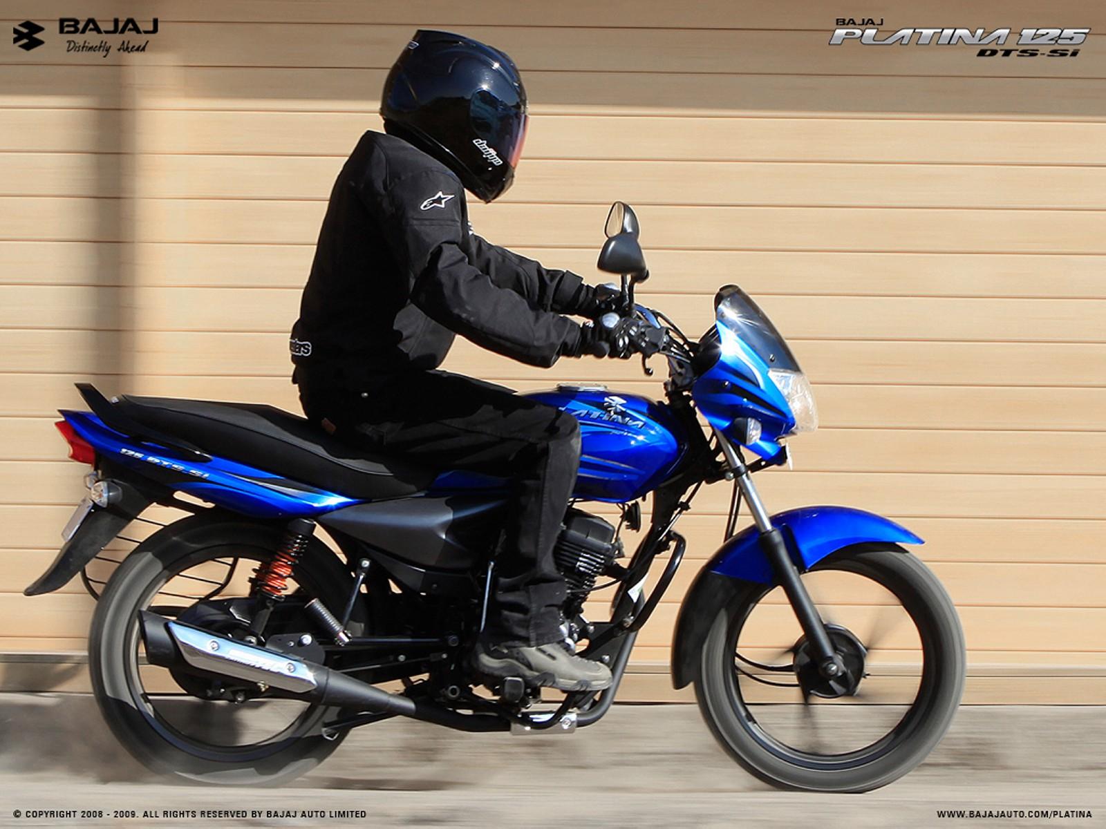 Motorcycle Pictures Bajaj Platina 125