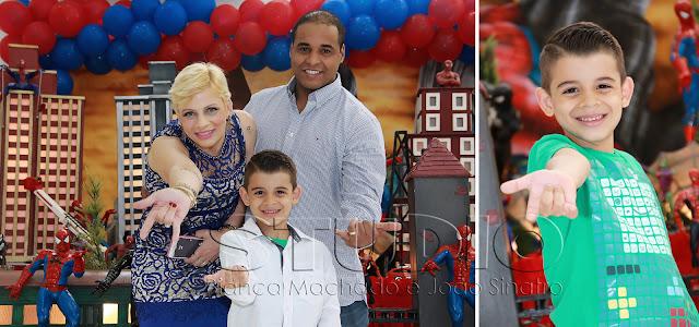 fotografia de crianças para festa de aniversário