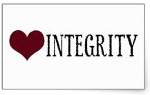 What does it mean to have integrity in your heart?  Thoughts at DTTB.
