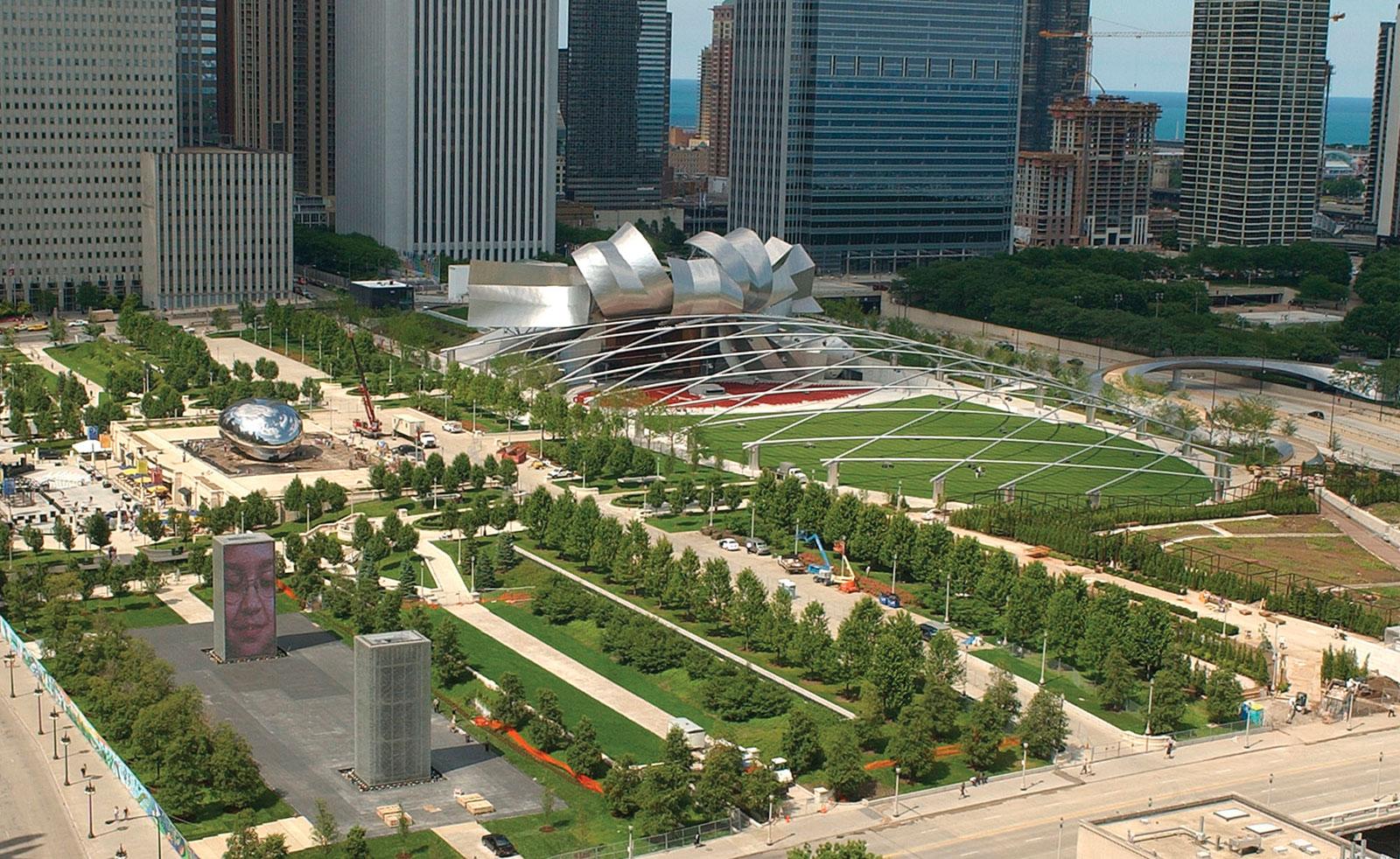 millennium park in chicago. Black Bedroom Furniture Sets. Home Design Ideas