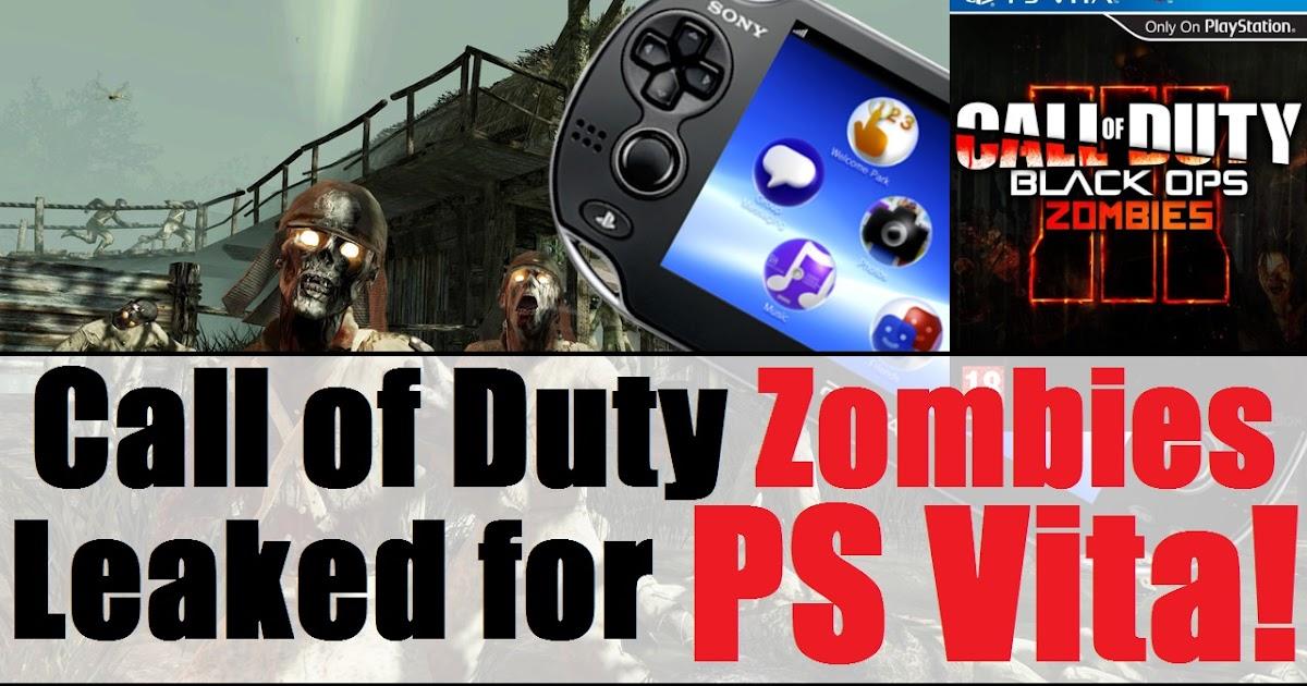 Ps Vita Cod Zombies