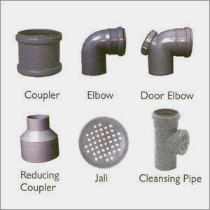 Civil At Work: PVC conduit, Accessories and fittings for PVC