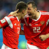 FT Russia hammered Egypt 3 – 1 #WorldCup