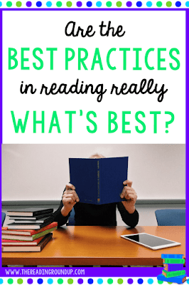 Examine exactly what are the best practices in reading according to Kylene Beers and Robert Probst in their book Disrupting Thinking.