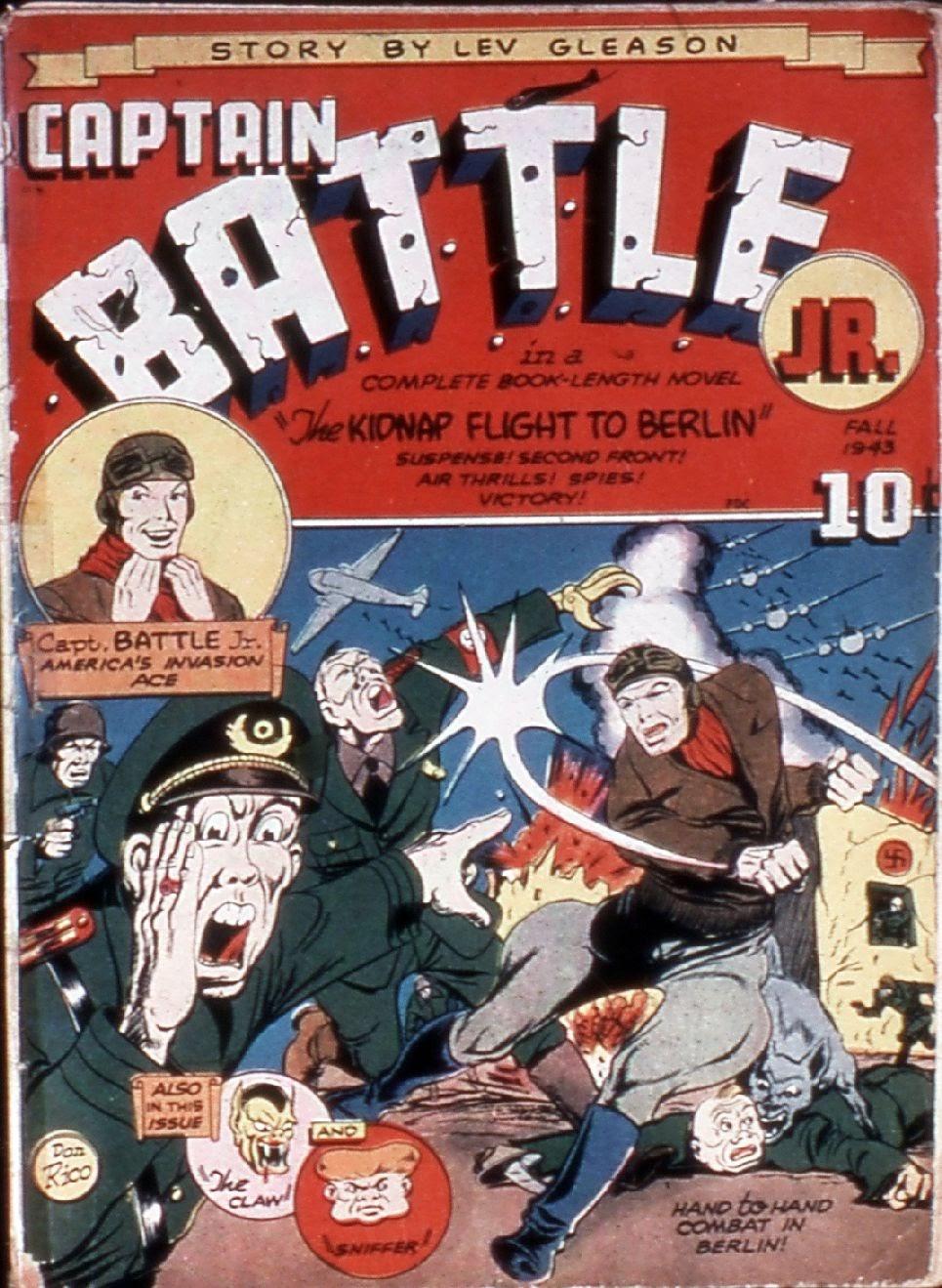 Captain Battle, Jr. 1 Page 1