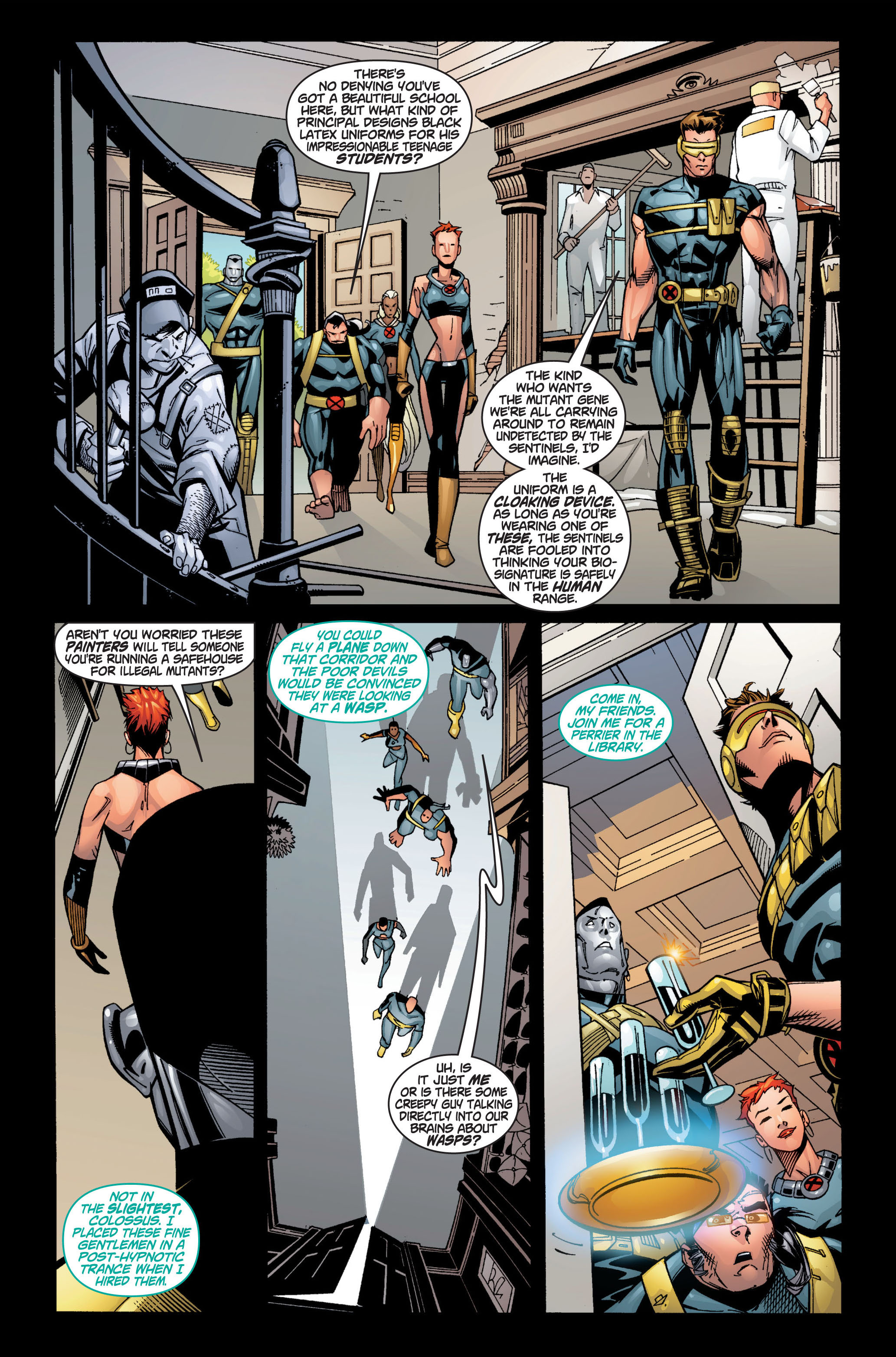Read online Ultimate X-Men comic -  Issue #1 - 18