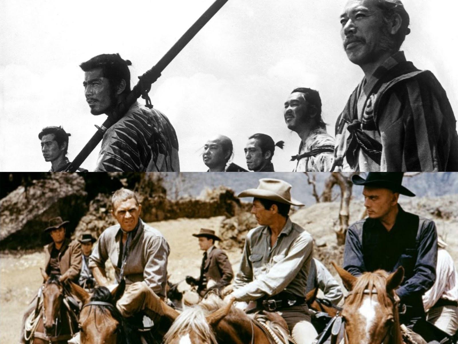 Os Sete Samurais vs Sete Homens e um Destino