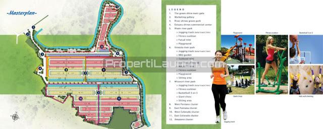 Master Plan The River Parung Panjang Bogor