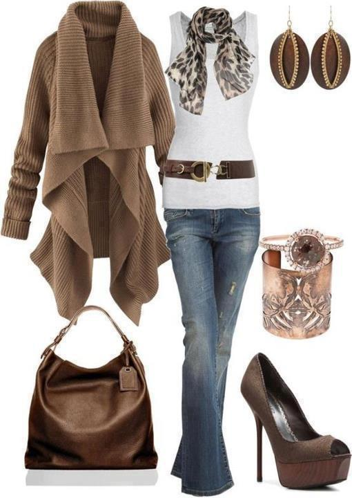 Clothes Accessories: Combination Of Clothes & Accessories