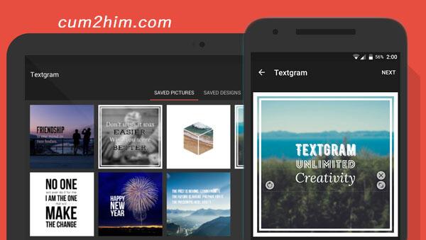 Aplikasi Textgram v3.0.7 Apk Terbaru