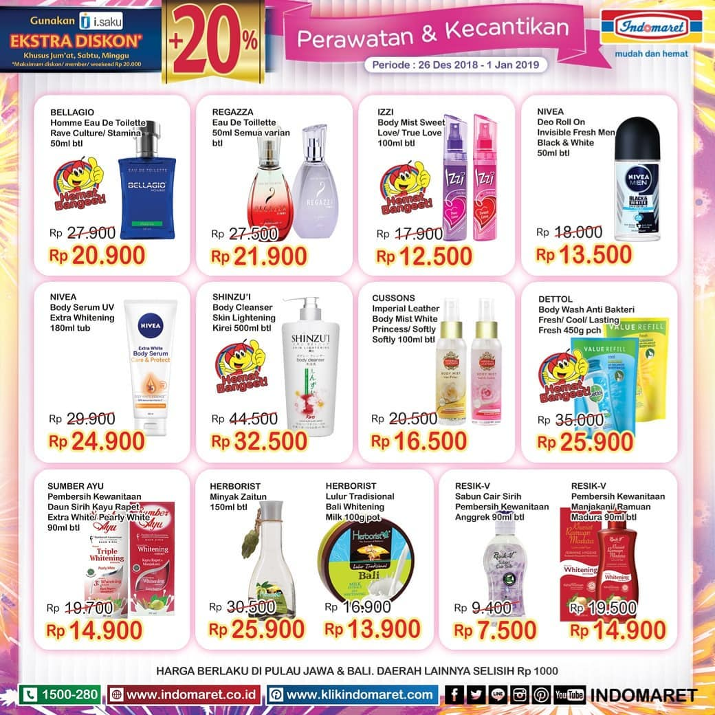 #Indomaret - Promo Katalog Periode 26 - 01 Januari 2019