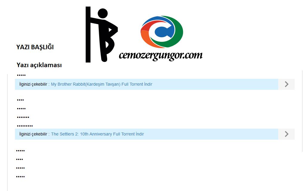 Blogger Yazı İçerisine Otomatik Çoklu İlgili Paylaşımlar Ekleme
