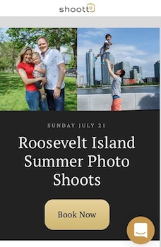 Book Your Shoott Roosevelt Island Summer Family Photo Session For Less Than $15 A Pic