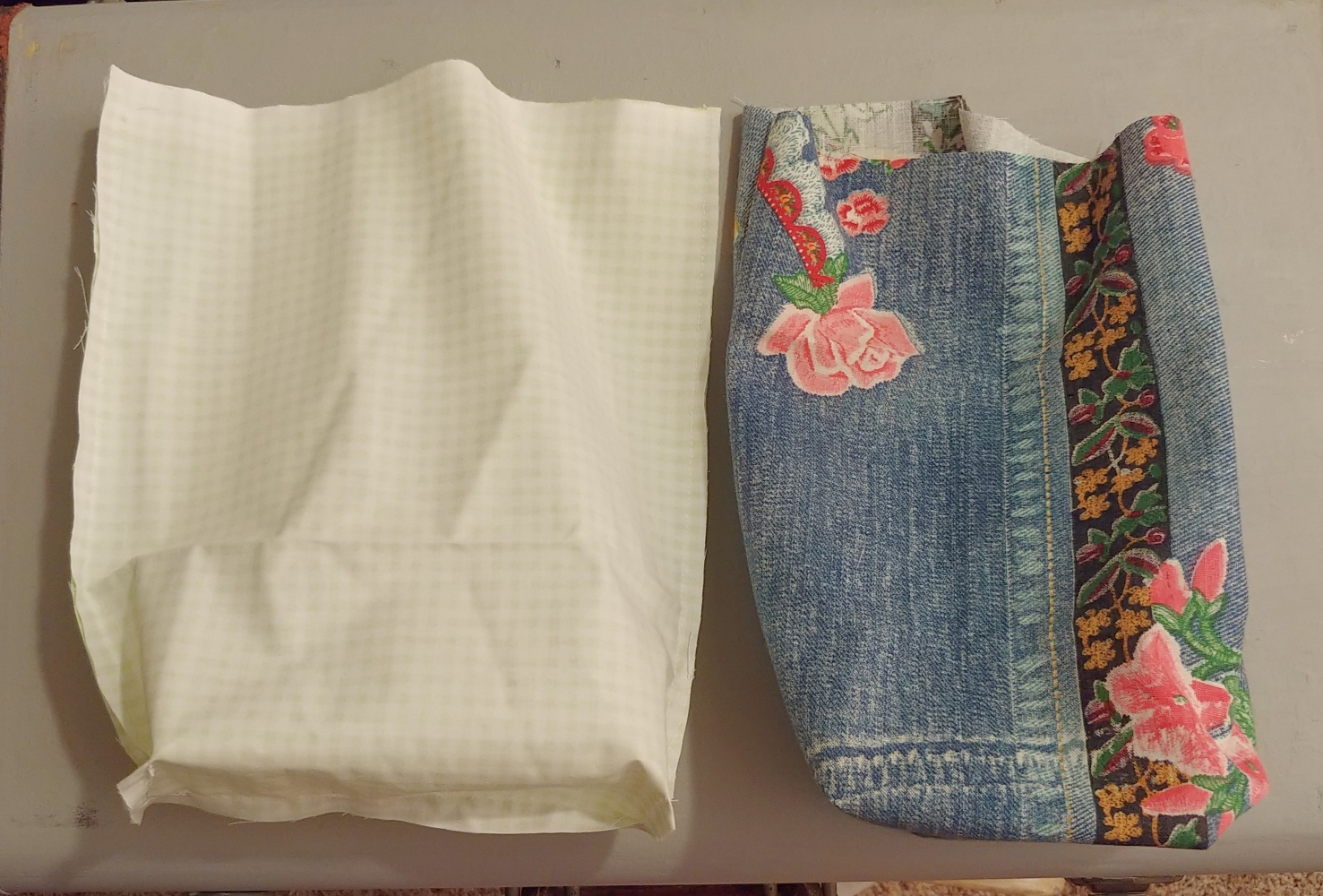 sew boxed bottoms
