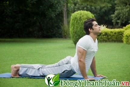 Cách chữa bệnh đau thắt lưng - Tập yoga