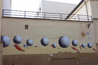 Sunday Street Art : Philippe Hérard - 2015 - rue de l'Equerre - Paris 19