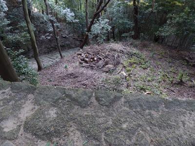 獅子窟寺 石段