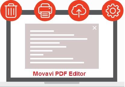 تحميل برنامج فتح و تحرير ملفات بى دى إف Movavi PDF Editor